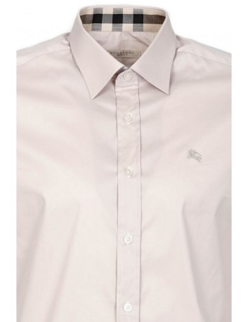 Camisa Slim Fit Burberry Brit - Beig