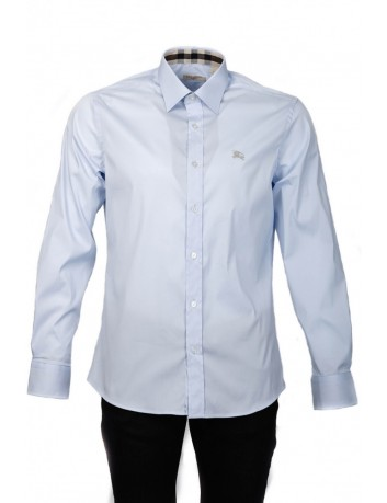 Camisa Slim Fit Burberry Brit - Light blue