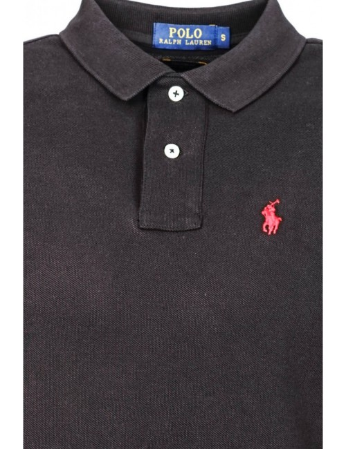 Polo Ralph lauren small Pony Manga larga Azul