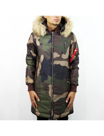 Camo Parka Jacket Limited edition