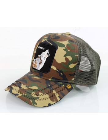 Gorra Goorin Bros Animal Farm Trucker Wolf