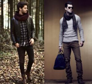 bufandas de marca hombre
