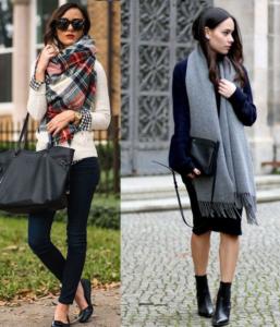 bufandas y pañuelos para mujer